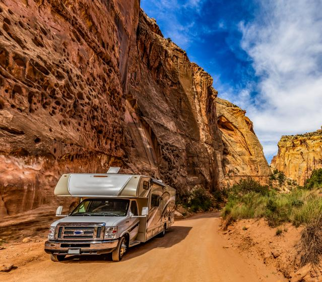 image for article: An RV Lets You Travel America In Comfort