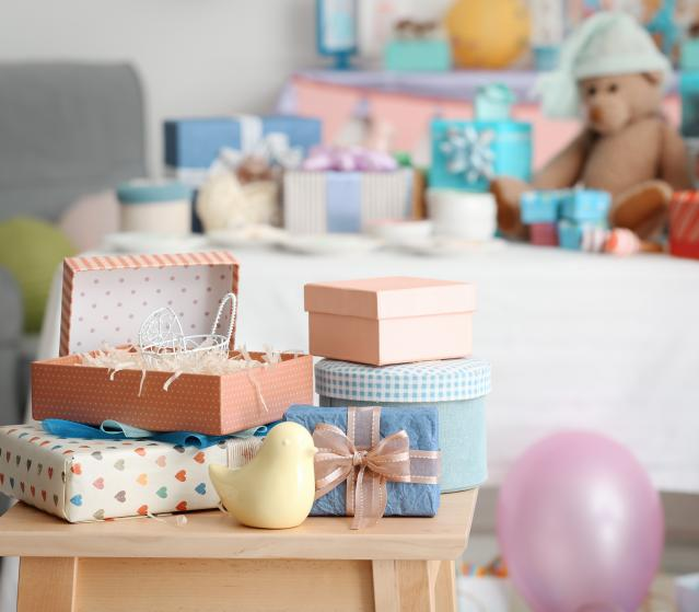 square of Giving a Great Baby Shower Gift Shows Your Support