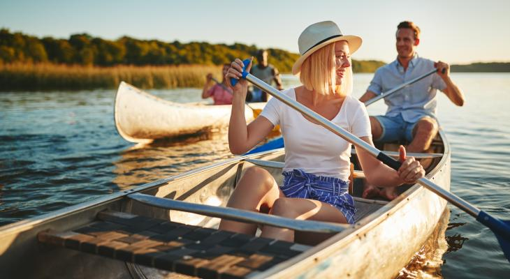 banner of Canoeing Can Be a Relaxing Time with Friends and Family