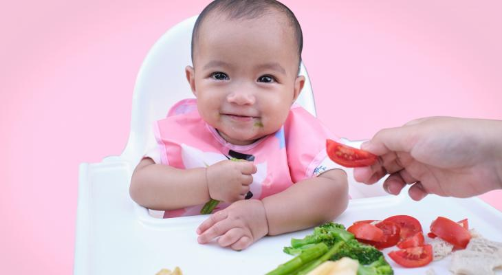 banner of Baby-Led Weaning Can Be a Child's Gateway to Solid Food