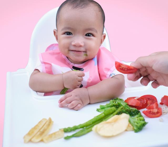 square of Baby-Led Weaning Can Be a Child's Gateway to Solid Food